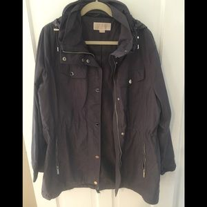 Michael Kors hidden hood jacket